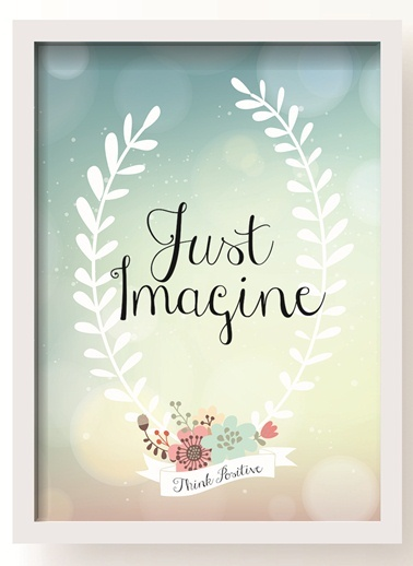 Just Imagine Poster-All About Wall
